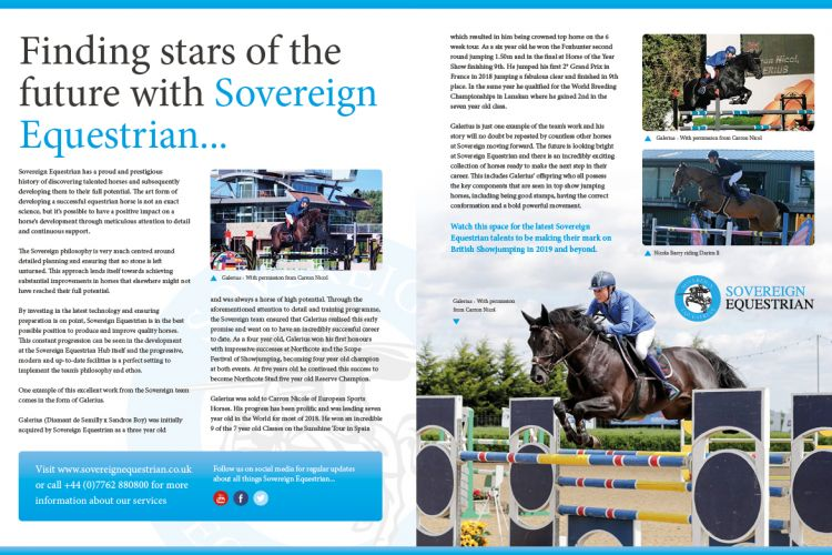 Finding stars of the future - Equestrian Life January 2019